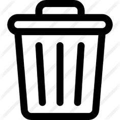 See more icon inspiration related to trash, bin, delete, garbage can, garbage bin, rubbish can, rubbish bin, miscellaneous and interface on Flaticon.
