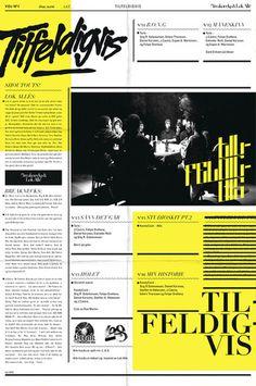 tilfeldigvis 2 poster by bureau bruneau #bureau #bruneau