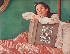 Ad-Englander Mattress 1945 What every Bride should Know | Flickr - Photo Sharing! #illustration #advertising