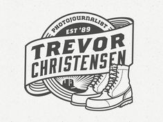 Trevor Christensen Badge #logo #badge #photojournalist