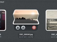Dribbble - Photofold by Supratim Nayak #interfaces