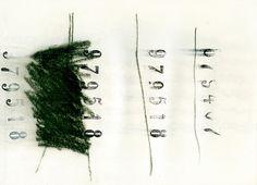 numeri- Emilio Nanni #emilio #poesia #arte #nanni #minimal #visiva