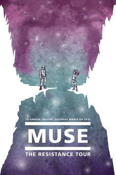 Muse Concert Poster