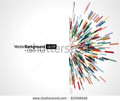 Abstract technology lines vector background. Eps 10 stock vector #background