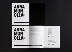 Lotta Nieminen #white #black #and #type #layout #magazine