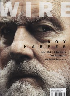 Wire Magazine #cover #photography #layout #magazine #typography