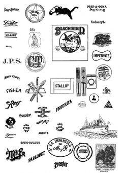 All sizes | Blackbird | Flickr - Photo Sharing! #vintage logos