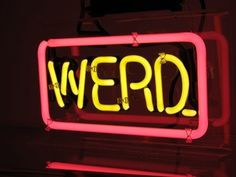 Typeverything.com — Word Play Neon by Patrick... - Typeverything #sign #word #werd #glow #neon