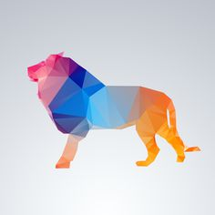 visualgraphic:Glass Animals Series #lion #shape