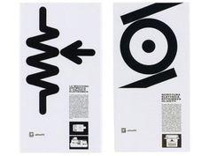 giovanni pintori Olivetti exhibition catalog #lines