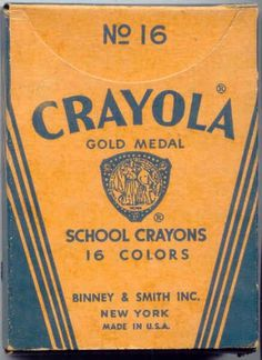 Google Image Result for http://4.bp.blogspot.com/_h5DTV--cNLI/TR98oplIYeI/AAAAAAAAK5M/uFCROltiC-s/s1600/CrayolaBox.jpg #type #crayola
