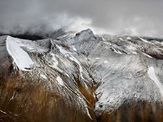 Edward Burtynsky WATER Web Gallery #glacier #burtynsky #mountains #landscape