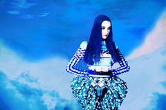 Mary Katrantzou's Shoots By Erik Madigan Heck | Cuded #madigan #heck #shoots #mary #katrantzou #erik