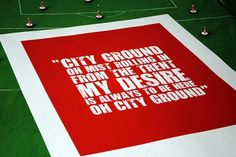 All sizes | notts-forest_1 | Flickr - Photo Sharing! #ground #red #nottingham #city #screenprint #song #poster #chant #forest