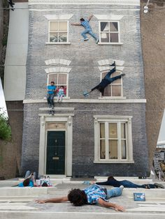 1 dalston house installation by leandro erlich #mirror #inception #installation