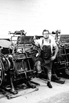Grain & Gram — The New Gentleman's Journal / Nick Sambrato, Printmaker #craftsmen #photography