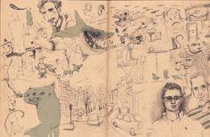 "CJWHO â""¢ (Brussels in shorts by Antonio Segura Donat #amazing #design #illustration #art #drawing"