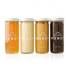 Bee Raw Buckwheat Honey #package design