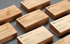 http://heydays.no/project/woodhouse/ #business #card #wood #identity #stationery #green