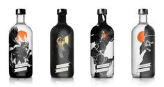 vargold vodka group bottles #illustration #packaging #matt taylor #vodka #ilovedust