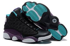 Mens Shoes Air Jordan 13 with Purple & Blue & Black Colorways Releasing #fashion
