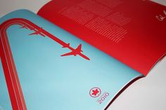 All sizes | Air Canada Annual Report | Flickr - Photo Sharing! #print #design #annual #report