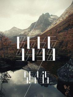 RITMO typeface / 2012 #novotny #dora