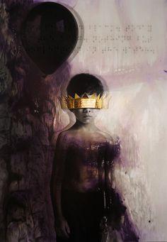 Roy Nachum King, 2011 rihanna riri Oil on canvas
