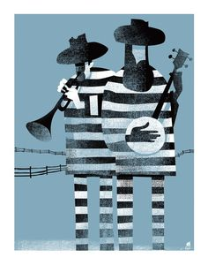 Convict Blues by Methane Studios #illustration #poster