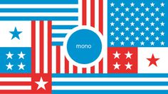mono_break_blog #design #usa #flag