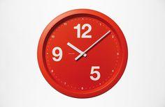 BVD – Askul #clock #askul #red