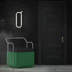 Quick Armchair #interior #creative #modern #design #furniture #architecture #art #decoration