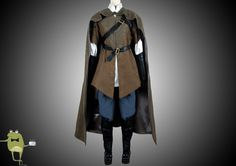 Lord of The Rings Legolas Cosplay Costume Cloak for Sale #cloak #costume #legolas #cosplay