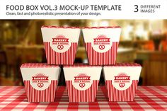 Food Box Vol.3 Mock-up Template https://creativemarket.com/itembridge/3862-Food-Box-Vol.3-Mock-up-Template SPEC: — Easy customization (b #shadows #3d #layered #red #modern #mockup #packaging #photo #box #food #clean #highlights #transparent #product #realistic #template #logo #paper #fast #mockups