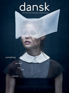 DANSK Magazine | AW11 Cover | F.TAPE | Fashion Directory #print #art #cover #magazine