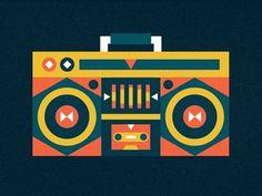 Cayucas_boombox #illustration