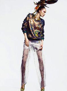 Alla Kostromichova #fashion #model #photography #girl