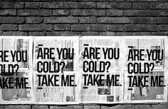 Are you cold? Take me on Behance