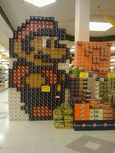FFFFOUND! | Best Supermarket Display Ever #retail