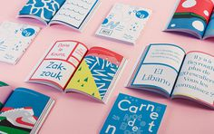 Carnet de Notes Alain Vonck #book #illustration #colorful #notebook #typography