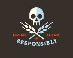 Vintage Badge Logo logopond.com #logo #grain #skull #alcohol #badge #wheat