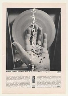 Ampex Computer Core Memory Hand You (1963) #computer #ampex #1963