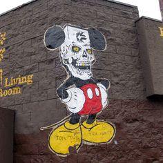 Walls of LA Sunet Mickey
