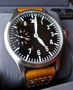 Steinhart Nav.B-Uhr II - Limited Edition #minimal #watch