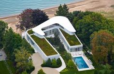 Lake Michigan House / Dirk Denison Architects