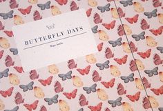 Butterfly days mariadiamantes #butterflies #pattern #design #book #illustration #editorial