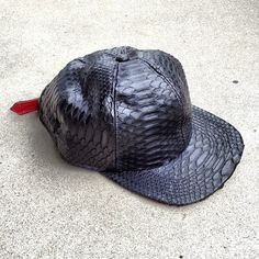 themacnificentmile:100% PYTHON. #fashion #hat