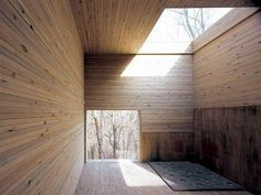 17 July 2010 - M O O D #wood #light #architecture #skylights