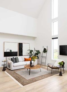 living room, Canada / Alloy Homes