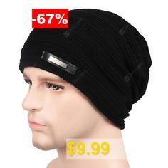 Plus #Velvet #Warm #Wool #Hat #for #Autumn #and #Winter #- #GRAPHITE #BLACK